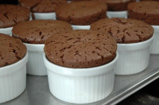 Kuchen Von Bitterer Schokolade Und Olivenol Mit Szechuanpfeffer