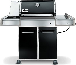 weber erdgasgrill genesis e 320 mit gussrost derhobbykoch blog. Black Bedroom Furniture Sets. Home Design Ideas