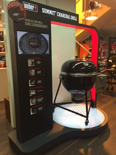 Weber Summit Charcoal Grill bei Grimm