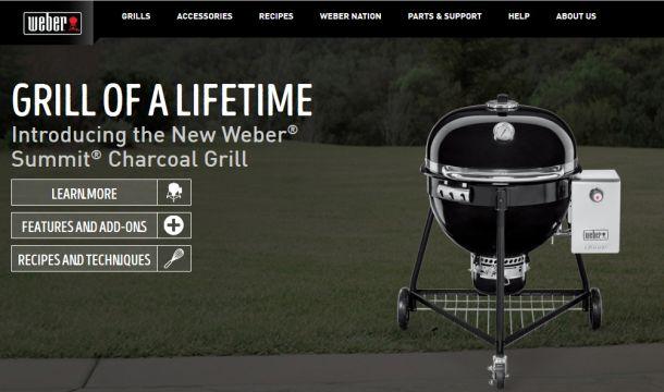 Weber Holzkohlegrill Mit Gasanzünder : Weber summit charocoal grill u eine neue generation der weber