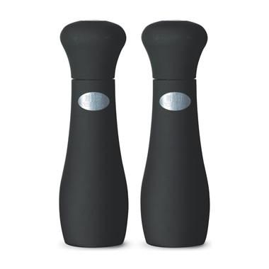 Weber Style Salz- und Pfeffermühle schwarz 19 cm