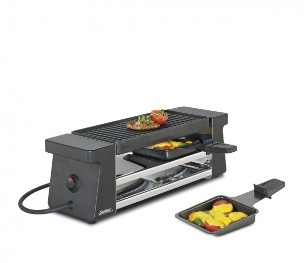 Spring Raclette 2 Compact schwarz