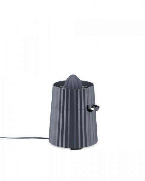 Alessi Elektrische Zitruspresse Plissé grau