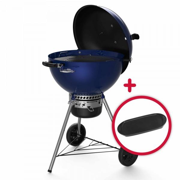 Weber Master Touch GBS C-5750 Ocean Blue 57cm Holzkohlegrill mit Gratis Grillplatte