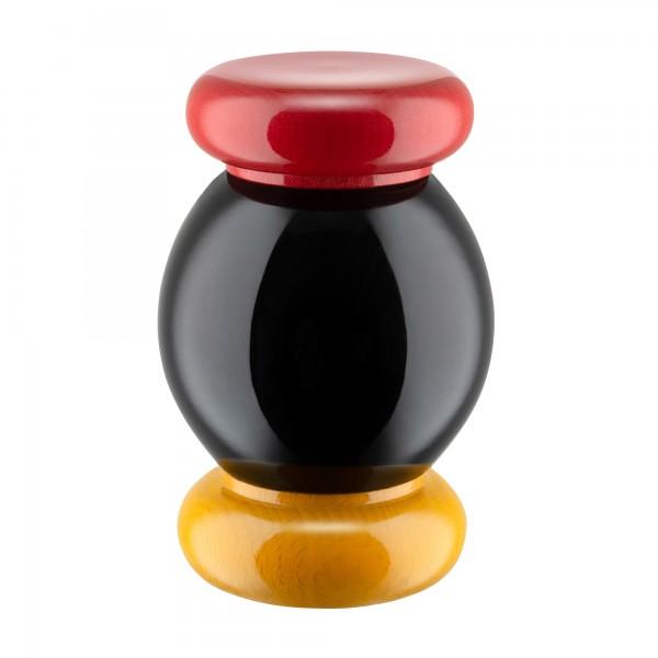 Alessi Salz Gewürzmühle schwarz