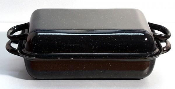 Riess Bratpfanne mit Deckel 32 x 22 cm