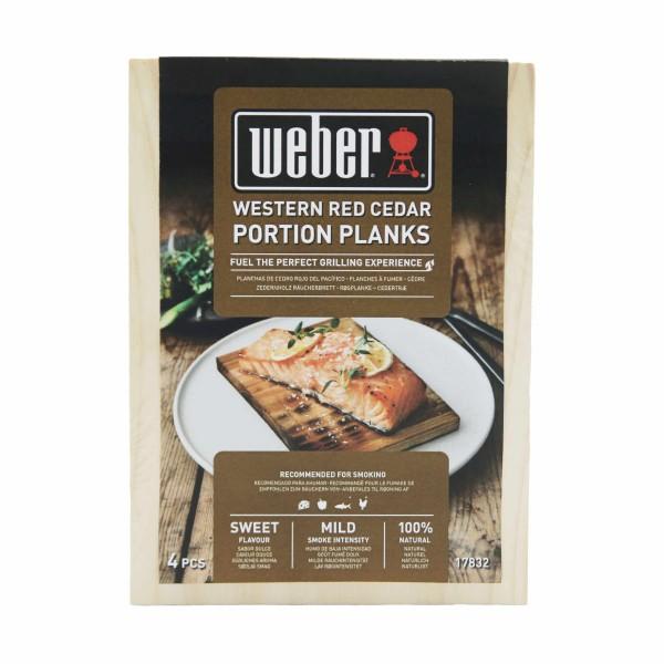 Weber Räucherbretter aus Zedernholz