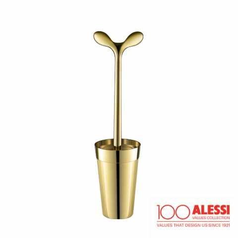 Alessi 100 Jahre Merdolino Klobürste Gold