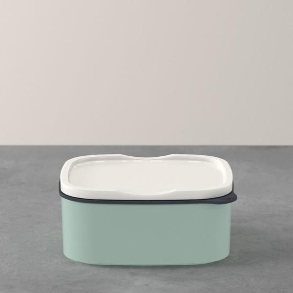 Villeroy & Boch ToGo&ToStay Lunchbox, 13x10x6cm, eckig, mintgrün
