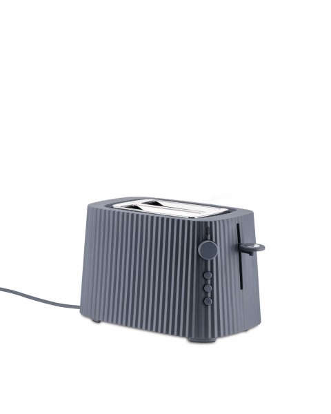 Alessi Elektrische Toaster Plissé grau
