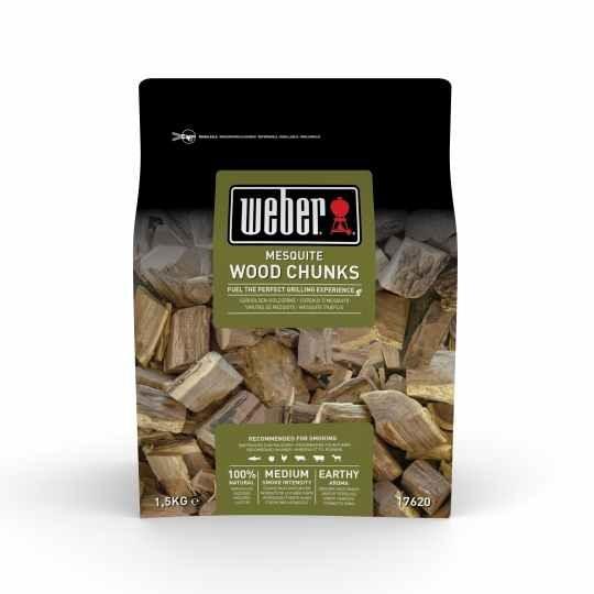 Weber Wood Chunks Mesquite