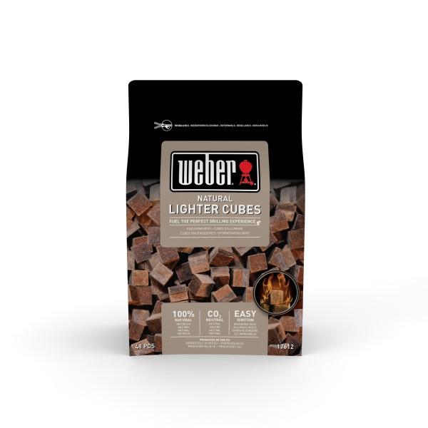 Weber Anzündwürfel braun - ökologisch