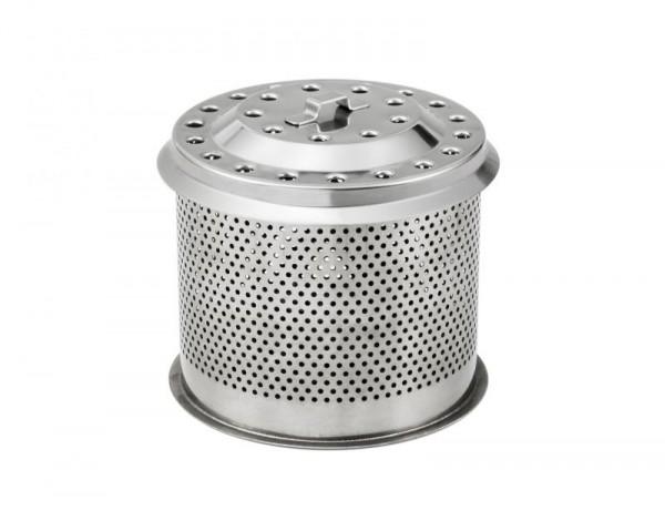 Lotus Gelochter Ersatz-Edelstahl-Kohlebehälter
