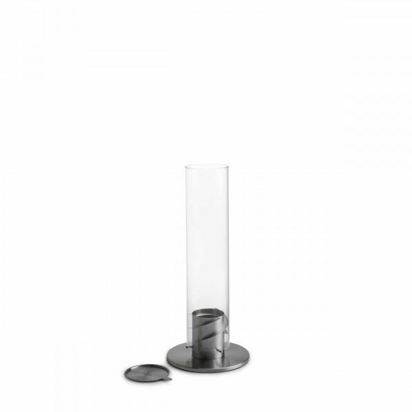 höfats SPIN 90 Tischfeuer Silber