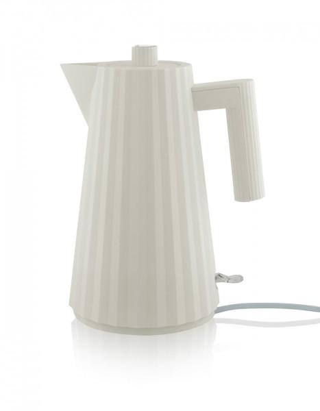 Alessi Elektrischer Wasserkocher Plissé weiß
