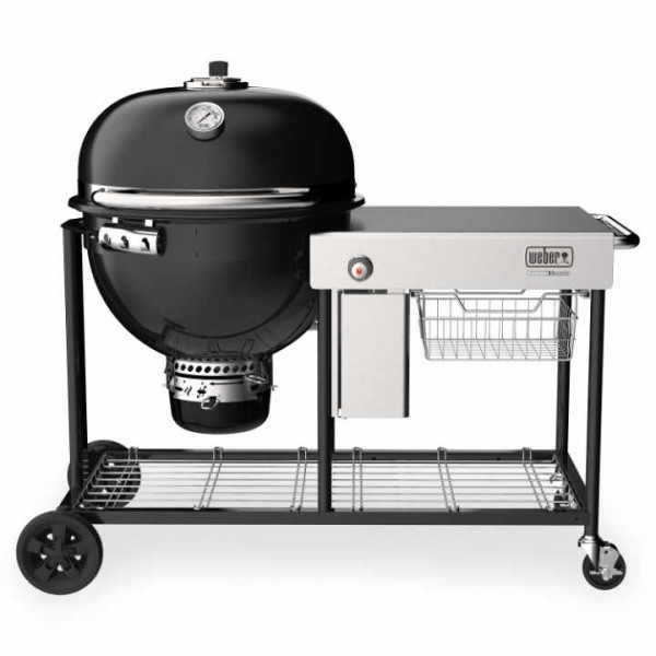 Weber Summit Kamado S6 Holzkohlegrill-Center