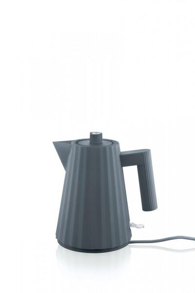 Alessi Elektrischer Wasserkocher Plissé grau