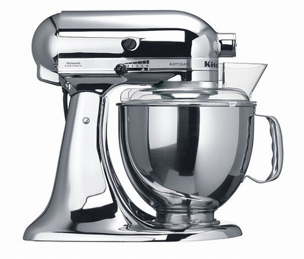 "KitchenAid Artisan ""chrom"""