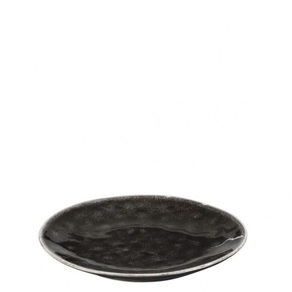 "Broste Copenhagen Teller flach 15cm ""Nordic Coal"""