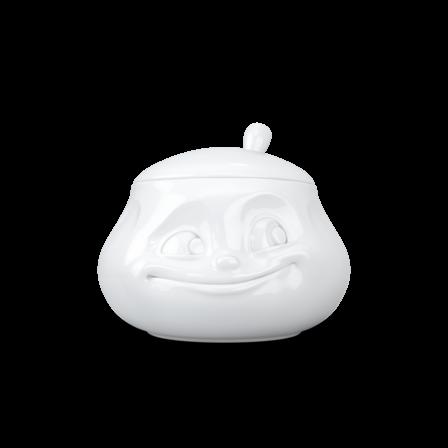 fiftyeight Zuckerdose Süß weiß