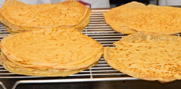 Crepes - hauchdünner Pfannkuchen