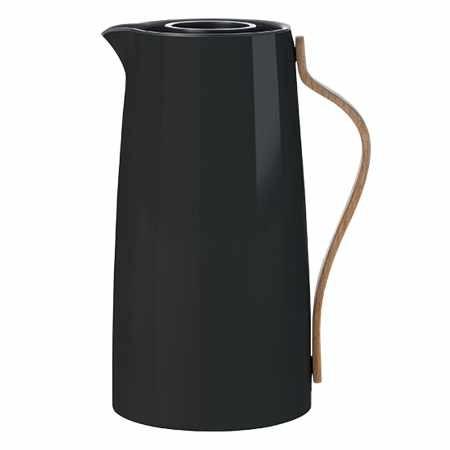 Stelton Emma Kaffeeisolierkanne Schwarz 1,2l