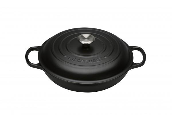 Le Creuset Gourmet Profitopf Signature 30cm schwarz