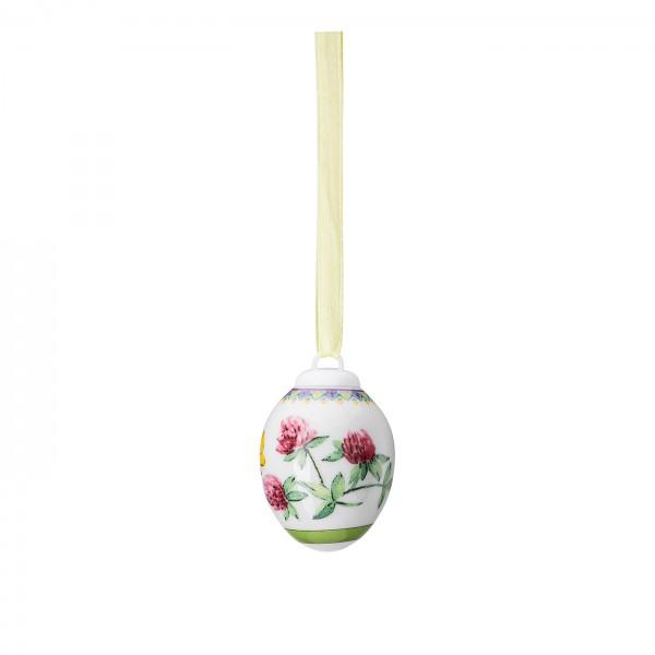 Hutschenreuter Porzellan-Mini-Ei Frühlingswiese Klee