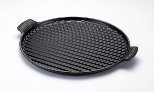 Le Creuset Grillplatte Tradition 32 cm schwarz