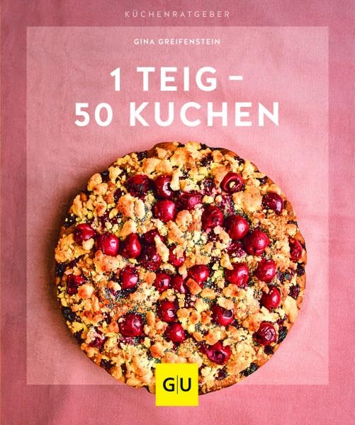 GU 1 Teig - 50 Kuchen