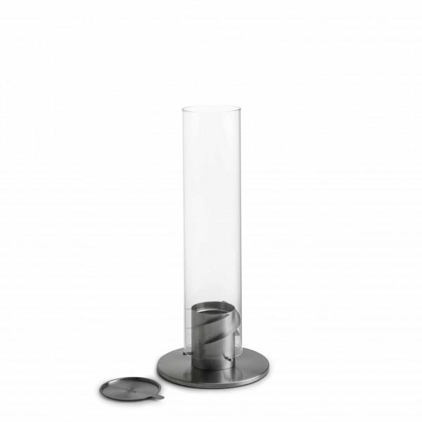 höfats SPIN 120 Tischfeuer Silber